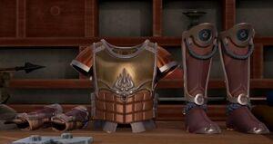 Ragefire Armor Set Donghua