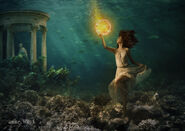 Tethys in the waters