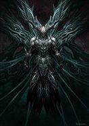 Thanatos in armor