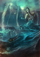 Tethys as the storms