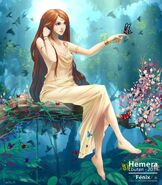 Hemera as a humanoid