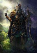 Iapetus in armor