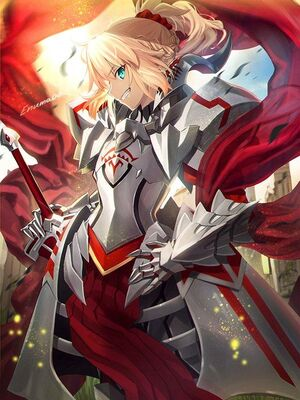 Mordred in armor