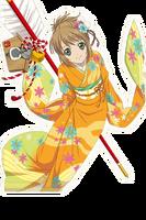 (Awkward Kimono) Leia