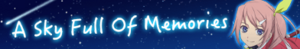 A Sky Full of Memories (Banner)