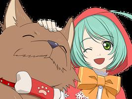 (Best Friends) Mil & Marishiba (Face)