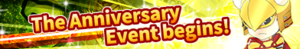 The Anniversary Event Begins! (Banner)