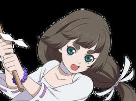 (Shrine Maiden) Himika (Face)