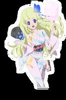 (White Kimono) Shirley