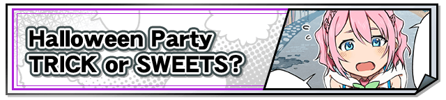 Halloween Party - Trick or Sweets? (Button)