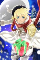 (White Christmas Present) Flynn (Background)