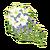 White Cascading Bouquet