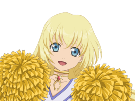 (Klutzy Cheerleader) Colette (Face)