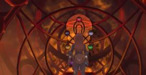 Gähnende Schlucht Portal