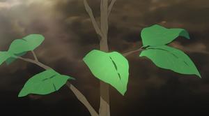 Weltenbaum Yggdrasill Sprössling