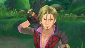 Malik in Tales of Graces f