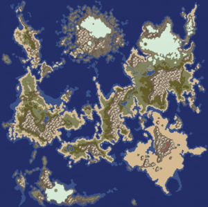 ToP Weltkarte