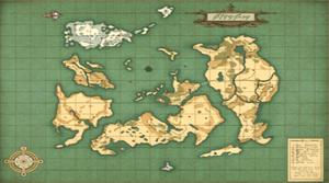 Auldrant Weltkarte