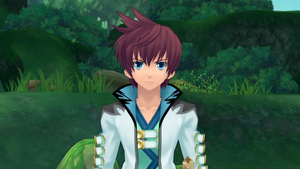 Asbel in Tales of Graces f