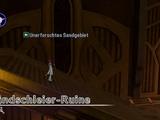 Sandschleier-Ruine
