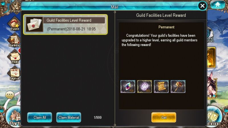 Facility level rewards