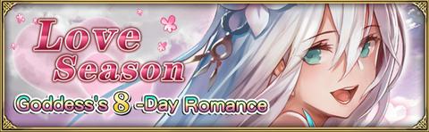 Goddess's 8-day romance