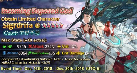 Sigrdrifa event banner