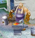 Blacksmith Goldie