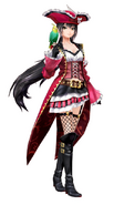 ToB Velvet Pirate Outfit