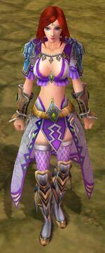 Blue Jade armor f