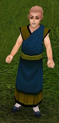 Buddhist Novice Quing