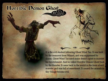 Horrible Demon Ghost