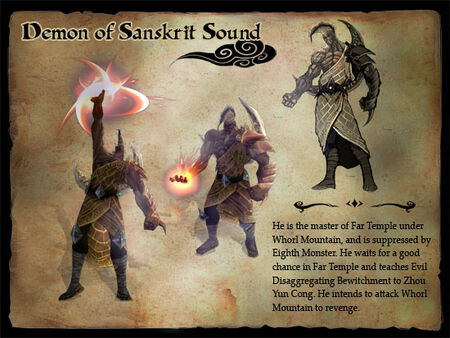 Demon of Sanskrit Sound