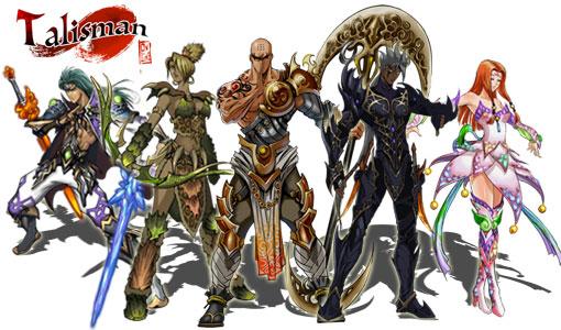 Talisman characters