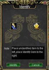 Golden Identify page