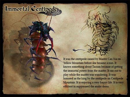 Immortal Centipede