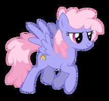Rainbowshine trotting by bluemeganium-d6386ff