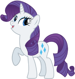 Rarity the pony everypony should know by axemgr-d4m0d2g