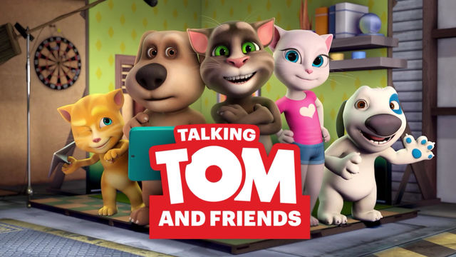 Talking Tom and Friends wallpaper