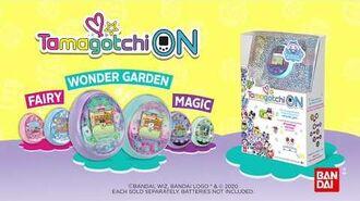 Tamagotchi On Wonder Garden
