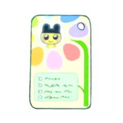 Mametchi's Dream School iD Card