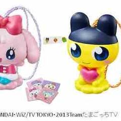 A image of Tamagotchi Happy Meal toys from Japanese McDonalds.
