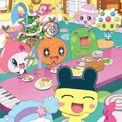 Tamagotchi Friends Christmas party