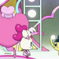Lovelitchi and Mametchi
