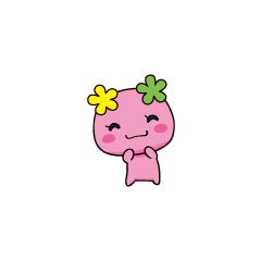 Anime artwork of Flowertchi happy