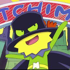 Anime depiction of Black Hat
