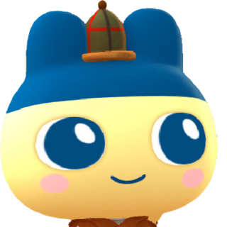 Promotional artwork of Mametchi