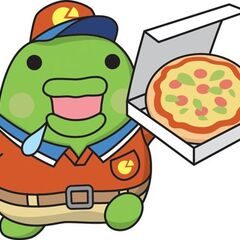Kuchipatchi delivering pizza