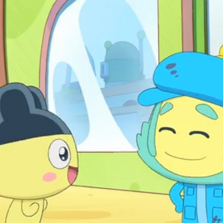 Paparighttchi and Mametchi