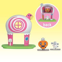 A toy version of Memetchi's house